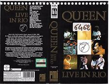 QUEEN - LIVE IN RIO (1985) vhs ex noleggio