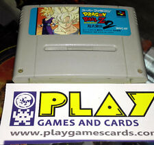 DRAGON BALL Z SUPER BUTOUDEN BUTODEN 2 SUPER NINTENDO FAMICOM SNES CARTUCHO JAP