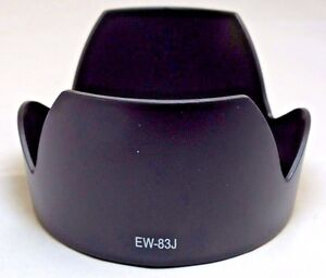 Plastic Lens Hood for Canon EW-83J for 17-55mm f2.8 IS USM zoom