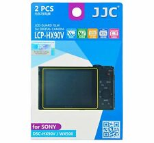 JJC LCP-HX90V LCD Guard Film Camera Screen Protector for SONY DSC-HX90V WX500