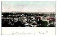 1907 Birds-Eye View, Eau Claire, WI Postcard