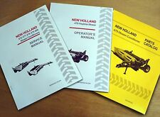 New Holland 479 Haybine Mower Conditioner Operators Service And Parts Manual
