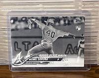 2018 Topps Update Mike Soroka Rookie Card Negative Parallel SP RC Atlanta Braves