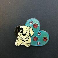 UK Disney Store - Patch - Jewel Heart Pin - 101 Dalmatians Disney Pin 30277