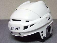"""Ccm Vector white ice roller hockey bull riding helmet size S Hat size 6 3/8""""-7"""""""