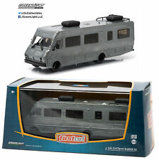 1:64 GreenLight *FIRST CUT* 1986 Fleetwood Bounder RV *RAW METAL* DISPLAY CASE