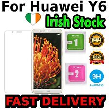 Huawei Y6 2018 Glass Screen Protector Tempered Quality IRISH STOCK