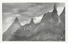 1940s Real Photo PC; Teresopolis, O Dedo de Deus Nat'l Park of Organ Mts, Brazil