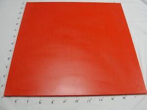 "Polyurethane/Urethane Sheet   1/2"" x 24"" x 24""  35 Duro A RED #4688"