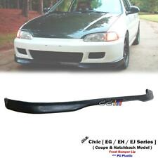 Front Bumper Lip For Honda Civic CX DX EX VX Si Hatchback Coupe EH EG6 EJ1 92-95