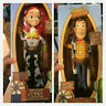 Xmas Toy Story 4 Deluxe Talking Woody Doll Action Figure 38cm Toy Detector gifts