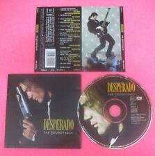 CD SOUNDTRACK DESPERADO DIRE STRAITS SANTANA LOS LOBOS 1995 EUROPE no mc  (OST5)