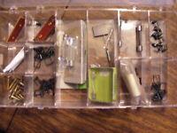 Vintage HO Scale  Miscellaneous Assortment Parts