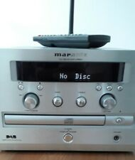 Marantz CD Dab Receiver CR601 Silver With Remote and Dab Aerial.