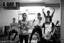 "A DAY TO REMEMBER ""BACKSTAGE GROUP SHOT"" POSTER FROM ASIA - Metalcore Music"