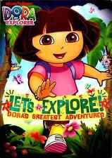 Dora the Explorer - Let's Explore! Dora's Greatest Adventures (DVD, 2010)