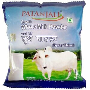 Patanjali Cow's Whole Milk Powder 200 gm Contains Various Vitamins And Minerals
