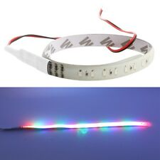 DC 12V 30cm 3528 32LED Knight Rider Flash Strobe Scanner Neon Strip Light RGB