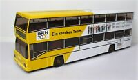 Wiking 1:87 MAN D 89 Berlin Doppeldeckerbus BVG OVP 731 02 Siemens Olympia 2000