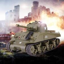 Henglong 2.4G US M4A3 SHERMAN 3841-02 Infrared Radio Control Battle RC Tank R/C