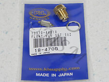 SUZUKI NEW K&L FLOAT VALVE NEEDLE & SEAT ASY 18-4700
