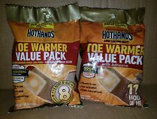 HotHands Adhesive Toe Warmer 7 pair Value Pack- 2 Packages!