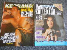 PANTERA  AND KISS METAL MAGAZINES