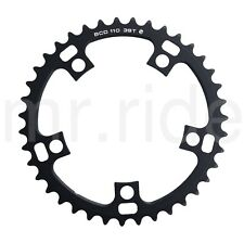 Driveline 39T Road Chainring Bike Bicycle Black,Bcd:110mm,for 53/39T,10/11Speed