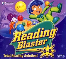 Reading Blaster Ages 6-8 Brand New Sealed Fast Shipping