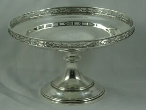 SOLID silver FRUIT DISH, 1927, 255gm
