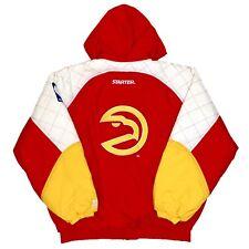 Vtg Rare NBA Atlanta Hawks Full Zip Starter Jacket. Mens XL.