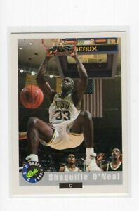 1992 Classic Draft Shaquille O'Neal Rookie Card #1 NM-MT