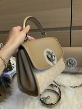 Coach 89121 Parker Top Handle in Signature Canvas Light Nickel/sand Taupe