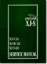 Jaguar XJS 3.6 and 4.0 Litre Service Manual by Brooklands Books Ltd...
