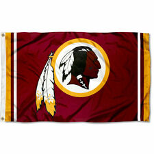 Washington Redskins Large Outdoor Nfl 3 x 5 Banner Flag