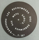 very rare signed MARCEL DUCHAMP 1968 S.M.S. #2 CONTREPETRIE RECORD sms copley B