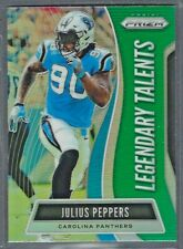 Julius Peppers 2019 Panini Prizm Emergent GREEN Retail Exclusive Panthers
