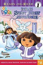 DORA THE EXPLORER Dora's Snowy Forest Adventure (Brand New Paperback)