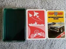 Quartett, Internationale Taxis, Ass, XL, vollständiger Kartensatz