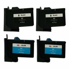Compatible ink Cartridge for Lexmark 82/83 use in X6100 X6150 X6170 (2 sets)