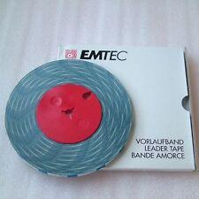 BASF  Emtec Band  BLAU/ WEIß LEADER TAPE  Studer Revox