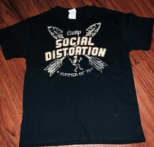 Camp Social Distortion Summer Of 79 TShirt Youth Large New NWOT Mike Ness Skelly