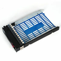 "3.5"" SATA SAS HDD Tray Caddy 373211-001 for Proliant DL360 ML370 DL380 G7 G6 G5"