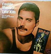 FREDDY MERCURY 45 TOURS HOLLANDE LOVE KILLS (METROPOLIS