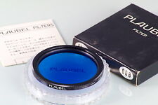FILTRO PLAUBEL FILTER 58mm NEW IN BOX OLD STOCK 80B BLUE FOR MAKINA 67 670