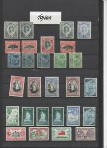 TONGA COLLECTION ON 10 PAGES