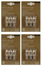2 X Lumineo Indoor Spare Candle Bridge Bulbs Replacement Bulbs 3 Bulbs 34v 3w