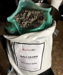 Bali Kintamani Organic Arabica Green/Raw Coffee Beans for home roasting QG 90+