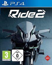 Ps4 juego Ride 2 carreras de motos neu&ovp PlayStation 4 envío de paquetes