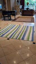 Pottery Barn Kids Bugs Full Queen Quilt Stripes Pickup Houston blue comforter
